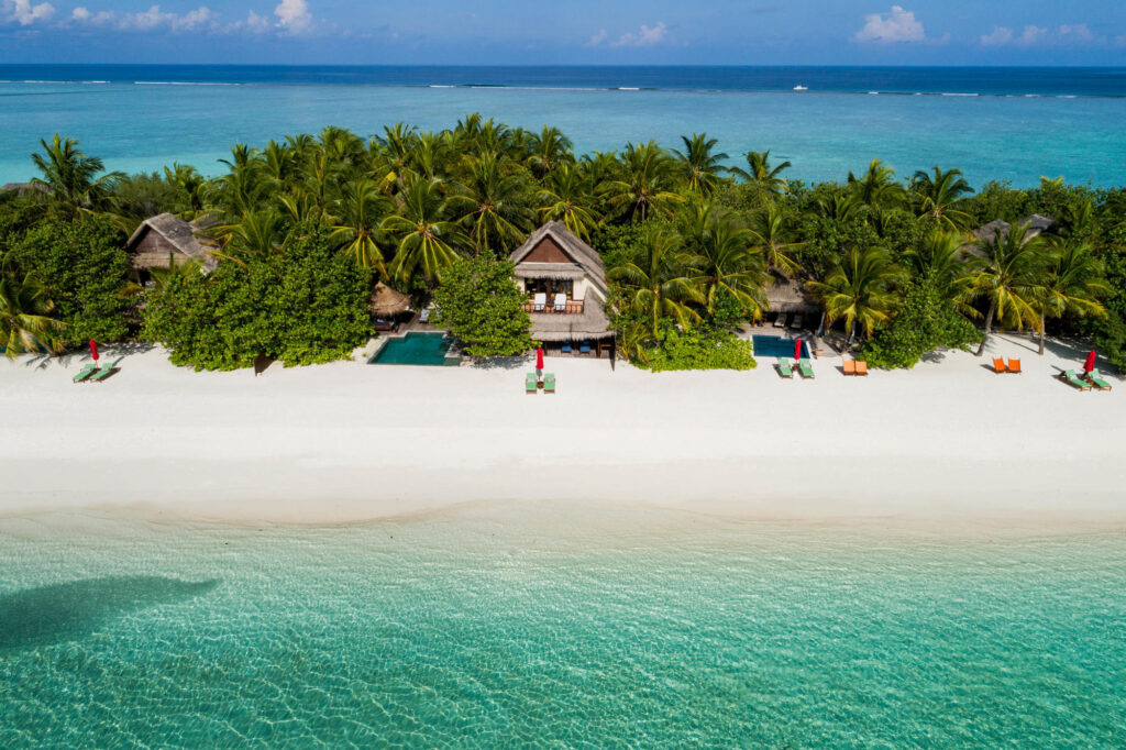 Aerial Photography at Taj Exotica Resort & Spa
