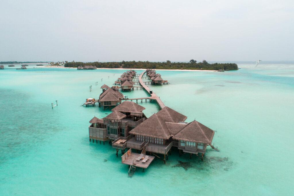 Aerial View of Gili Lankanfushi