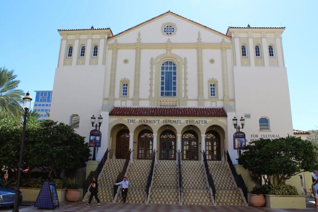 Harriet Himmel Theater City Place Downtown West Palm Beach