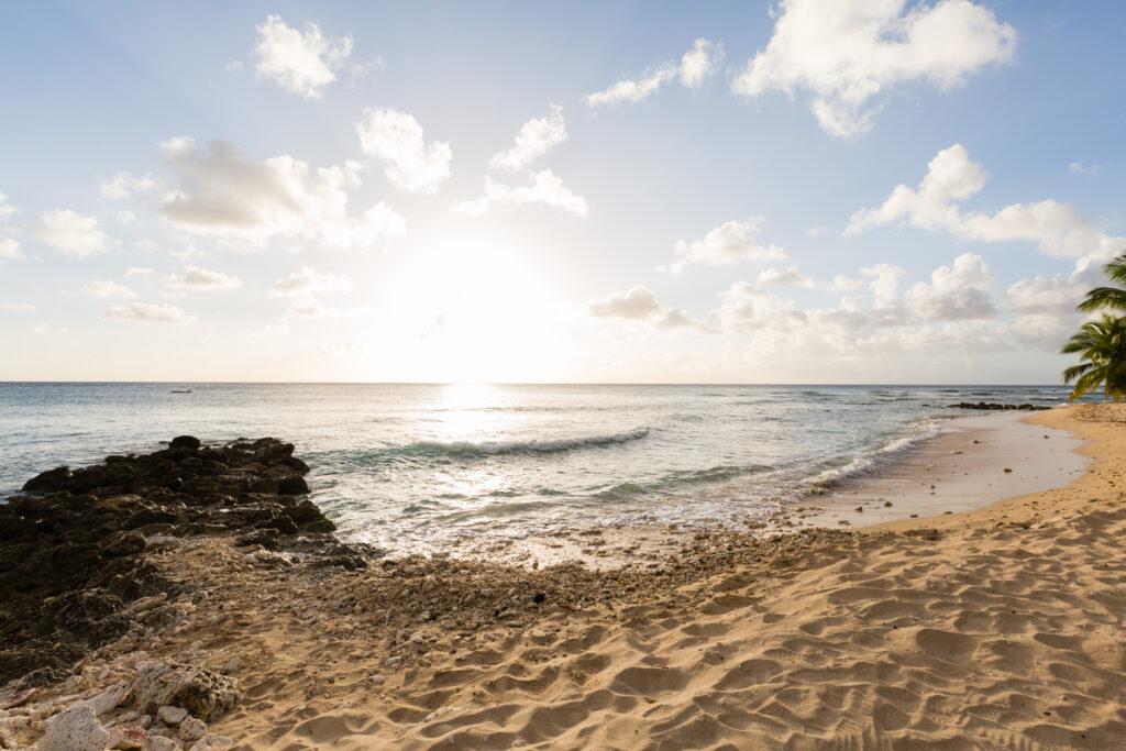 Beach at Saint Peter's Bay, Barbados