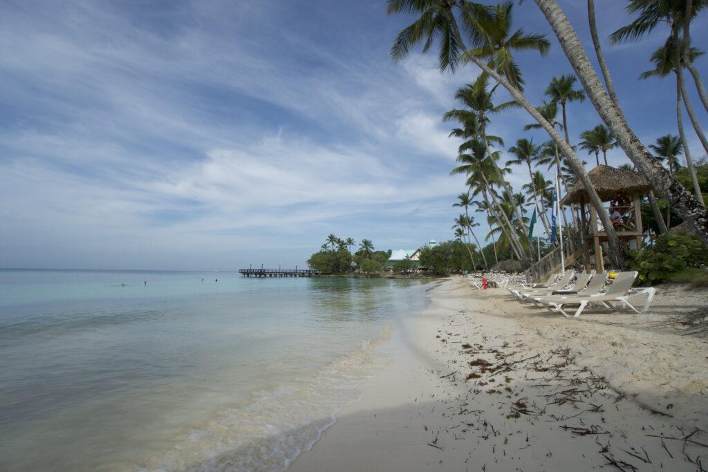 Beach at Hilton La Romana A Family Resort