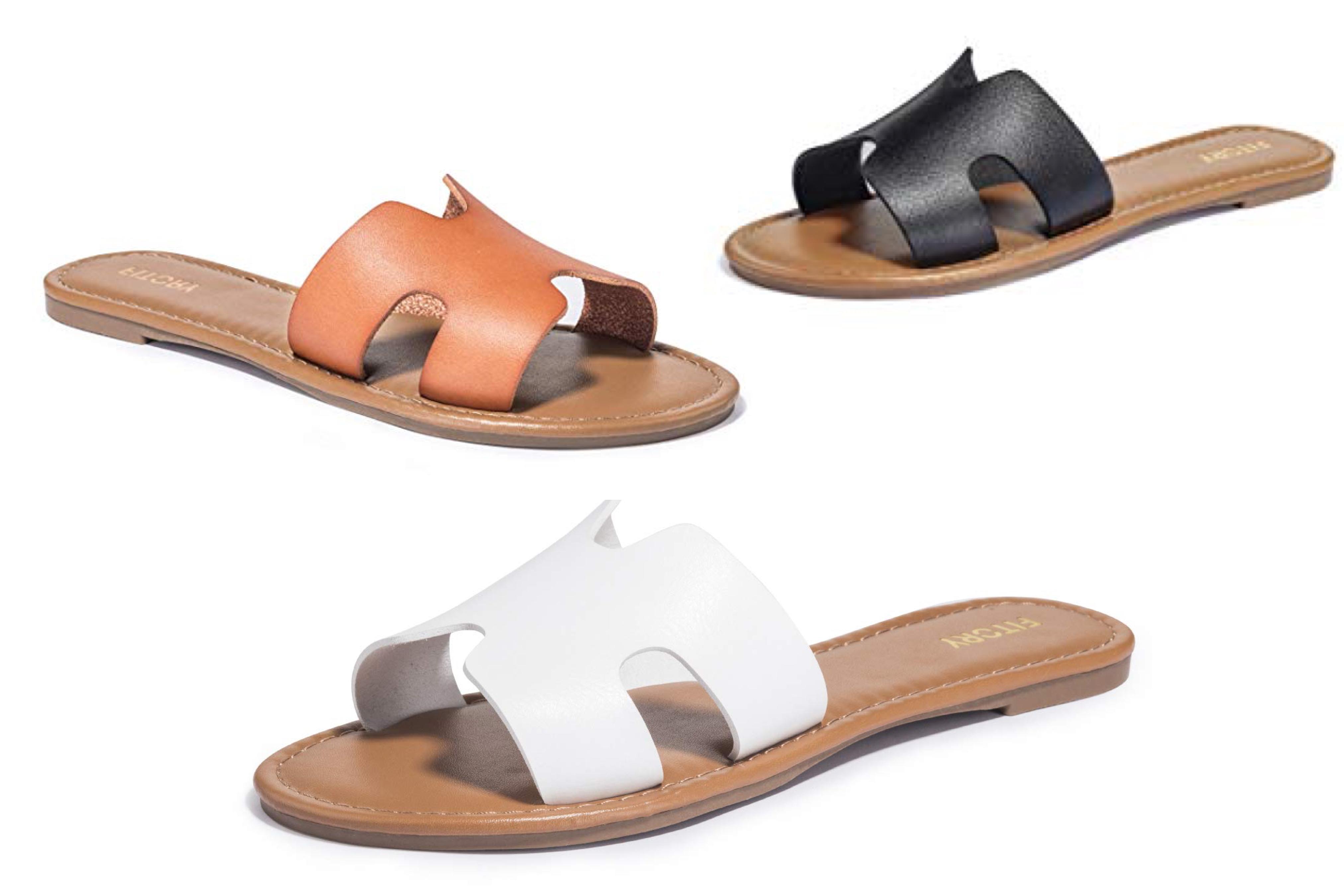 Fitory Women's Flat Sandals