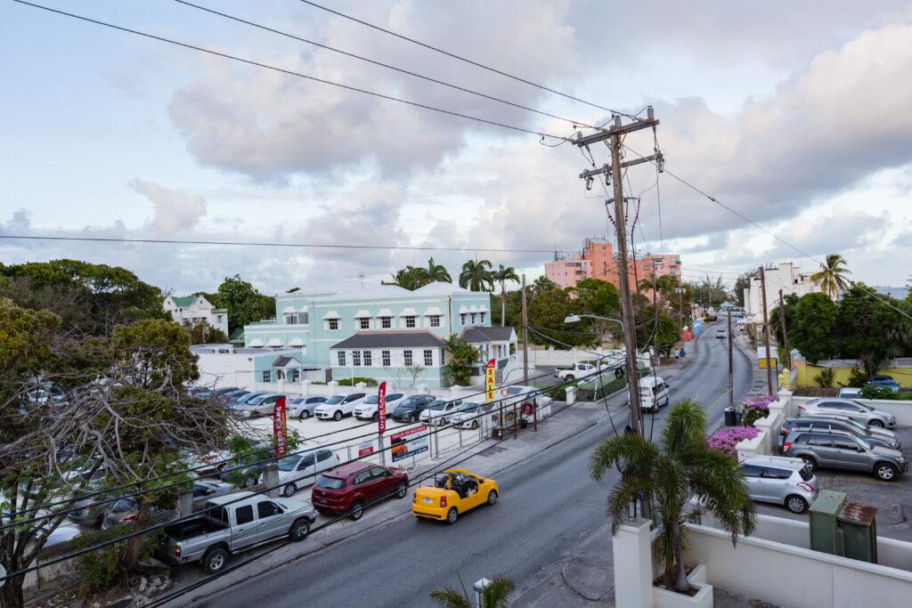 Road in Barbados
