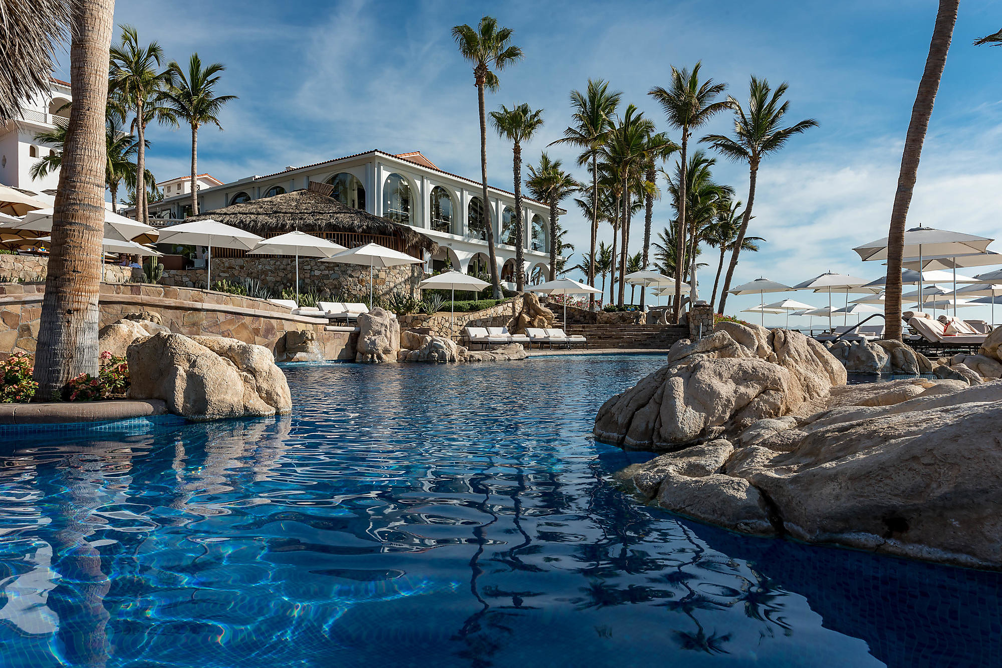 The Adult Pool at One&Only Palmilla in Los Cabos