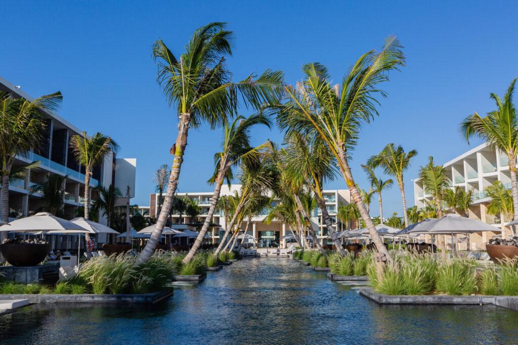 Adult Pool at the Grand Palladium Costa Mujeres Resort & Spa