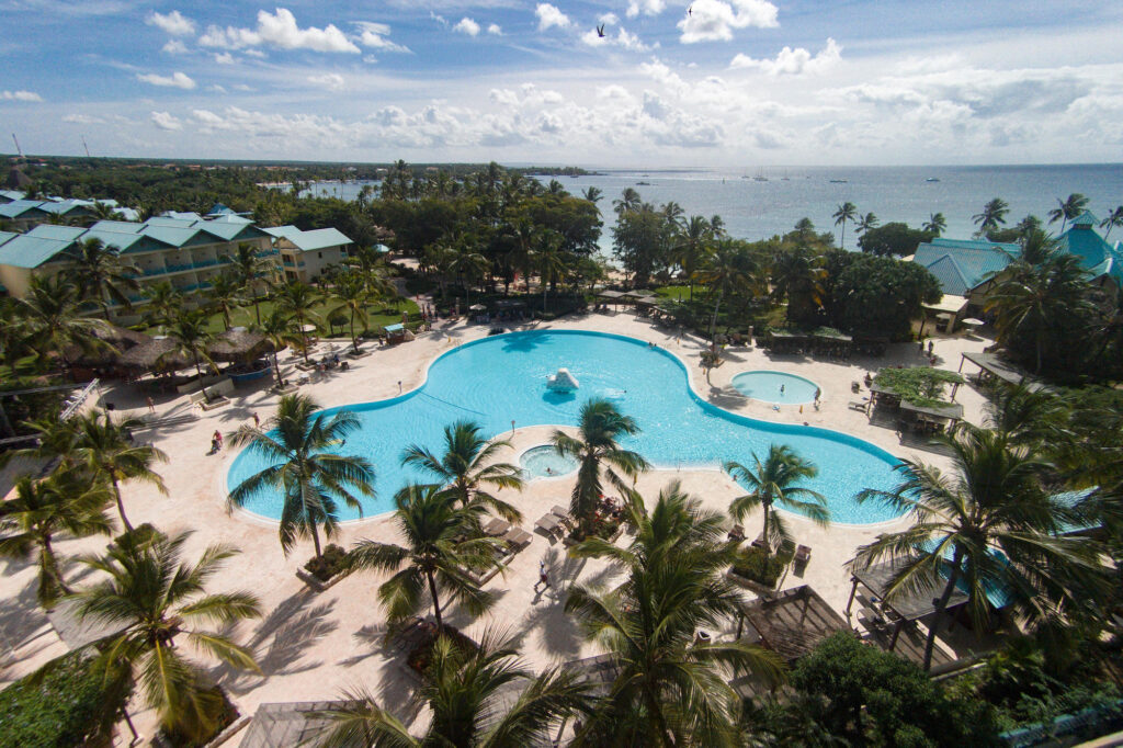 Aerial Photography at the Hilton La Romana, an All-Inclusive Adult Resort