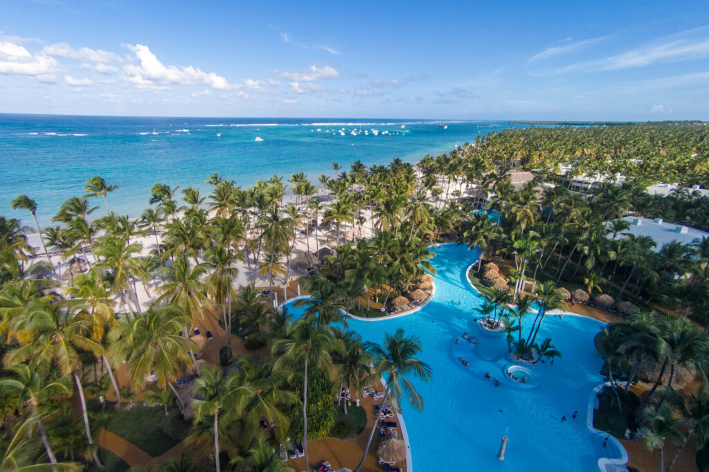 Aerial Photography at The Level at Melia Caribe Tropical