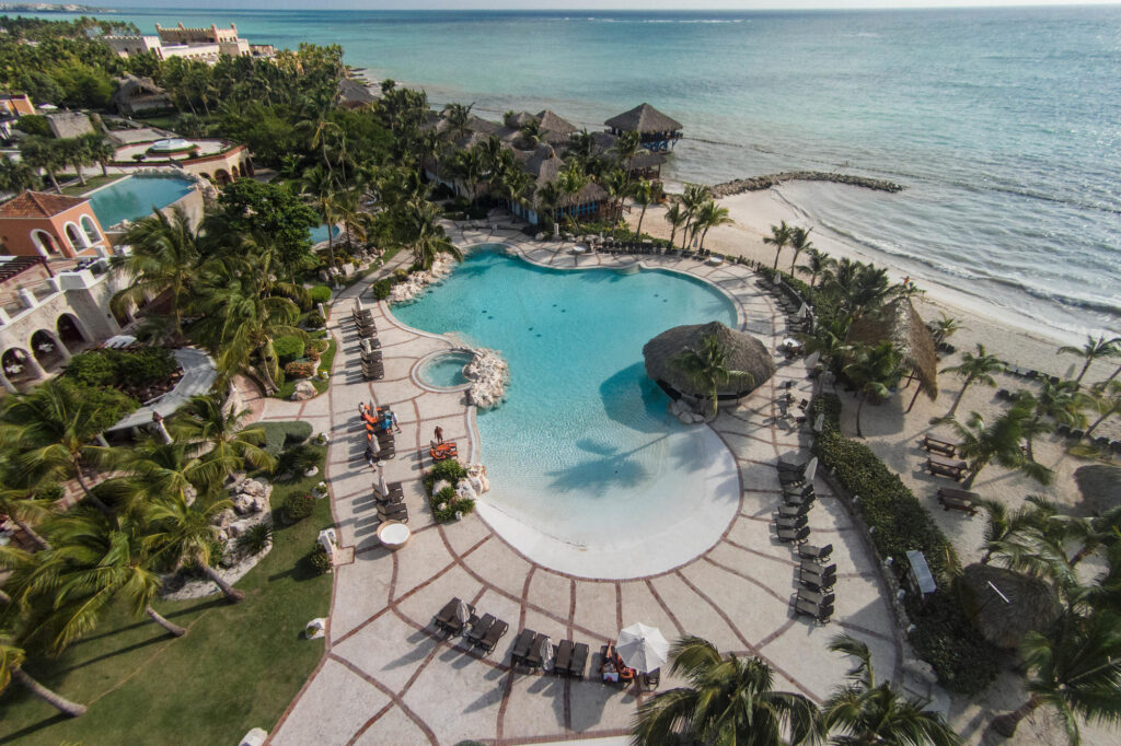 Aerial Photography at the Sanctuary Cap Cana