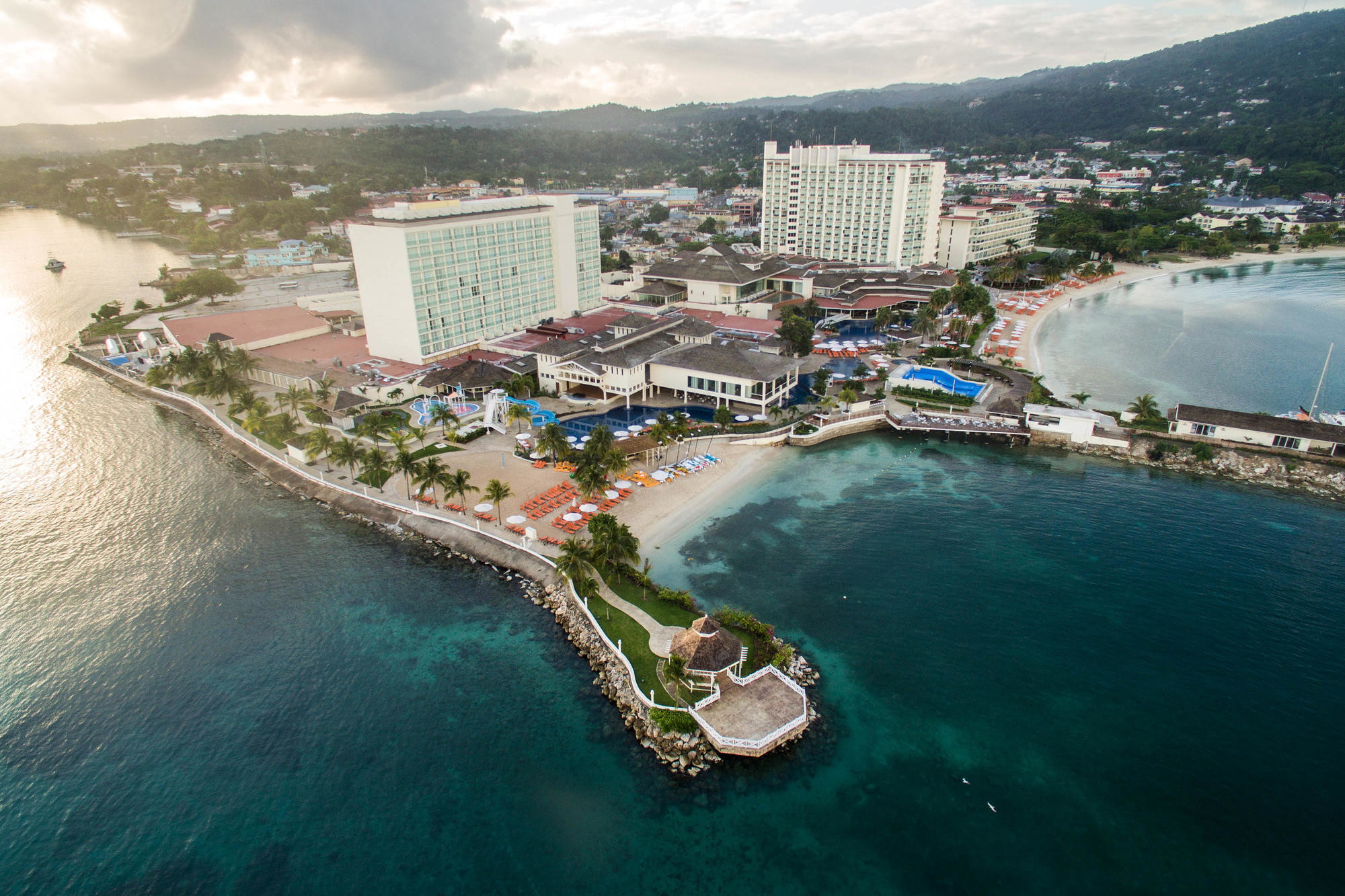 Beaches and grounds at Moon Palace Jamaica