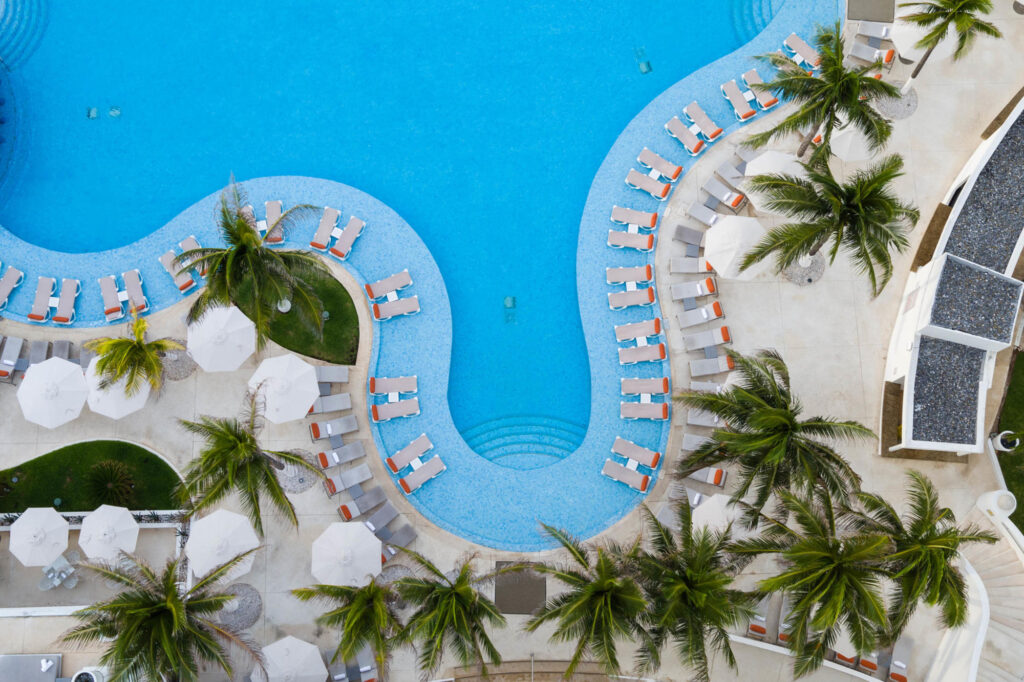 Aerial Photography at the Le Blanc Spa Resort