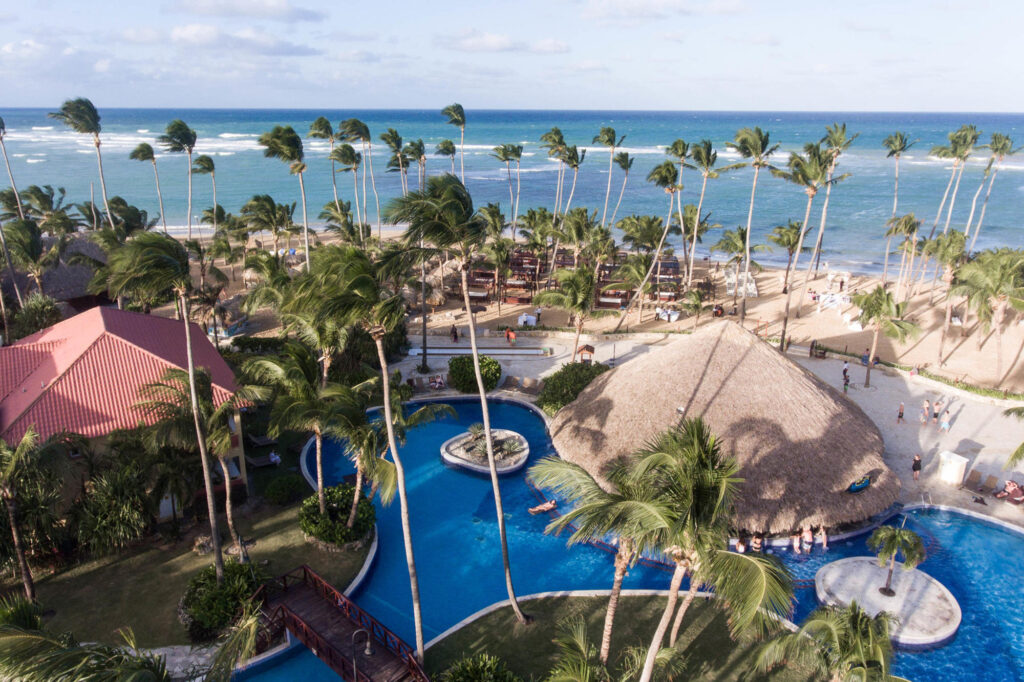 Aerial View of Dreams Punta Cana Resort and Spa