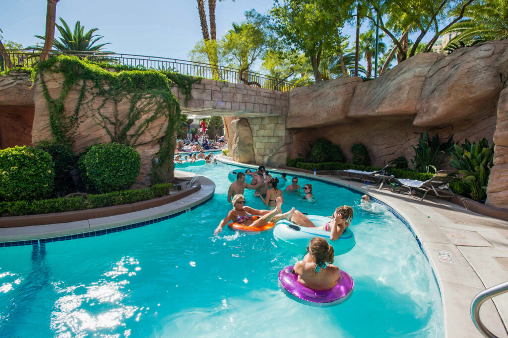 Pool at MGM Grand Hotel and Casino