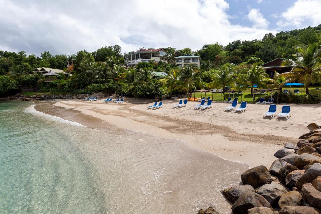 Beach at the Calabash Cove Resort and Spa