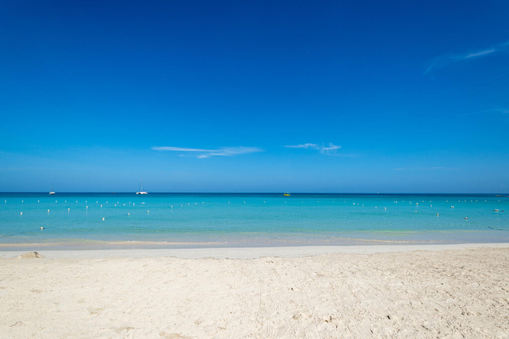 Beach at the White Sands Negril