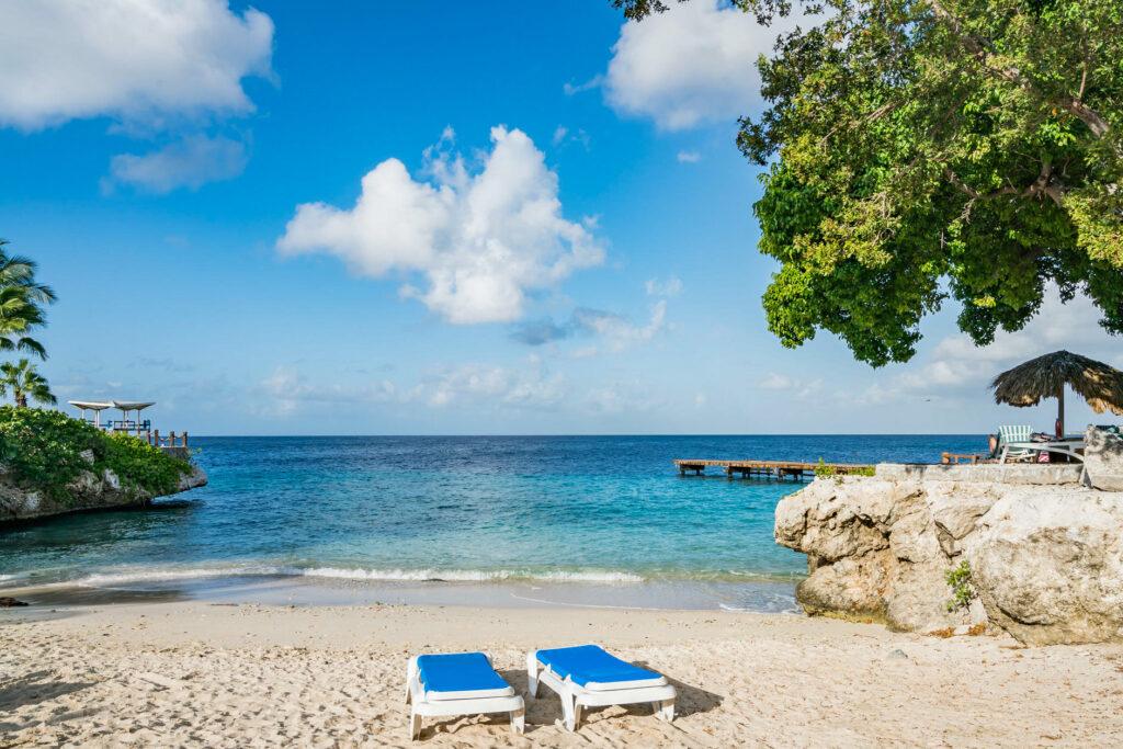Beach at the Hilton Curacao