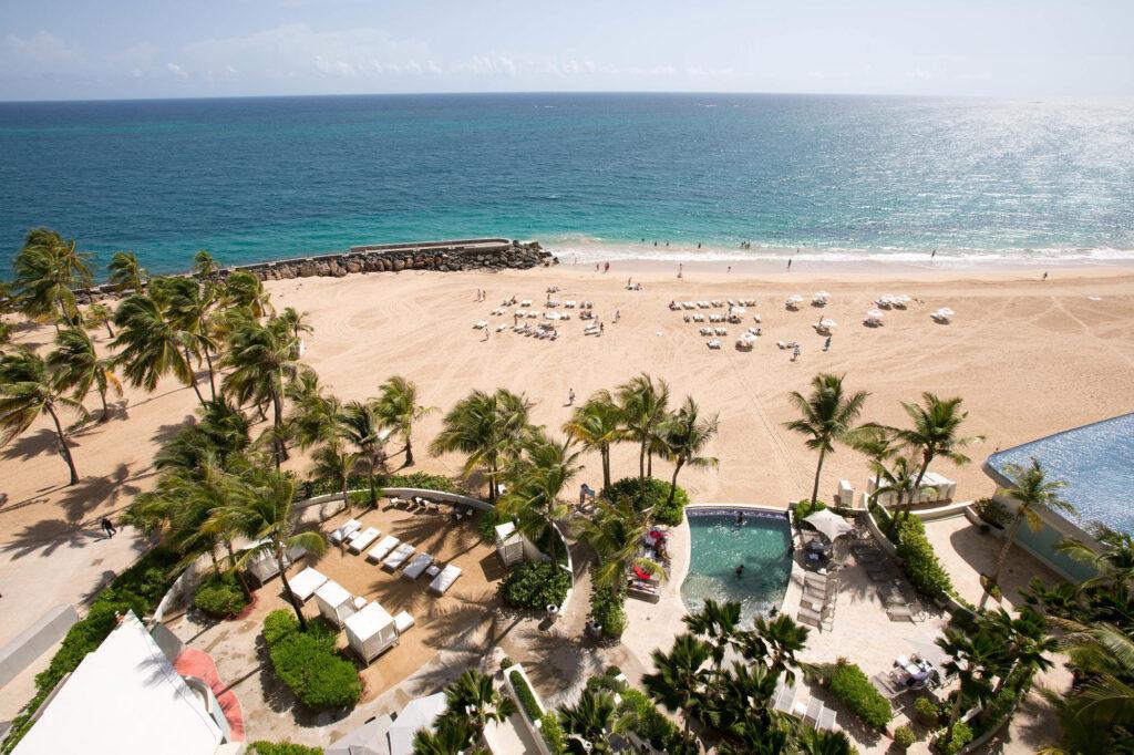 Beach at the La Concha Renaissance San Juan Resort