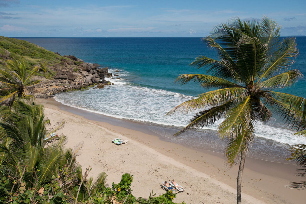 Beach at the Petite Anse Hotel Grenada