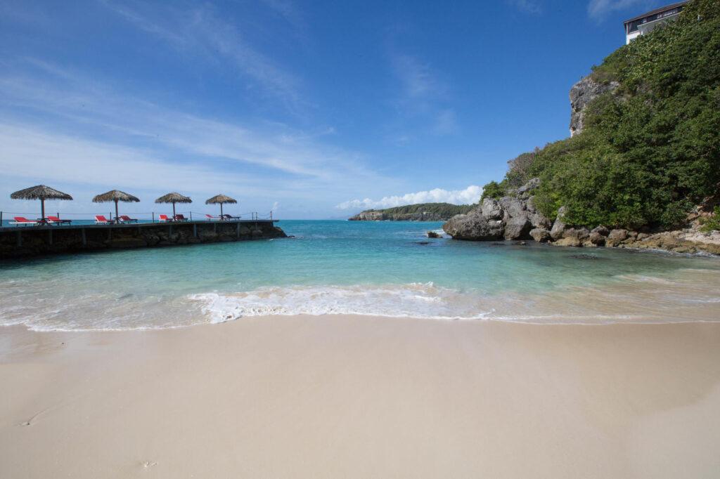 Beach at the La Toubana Hotel & Spa