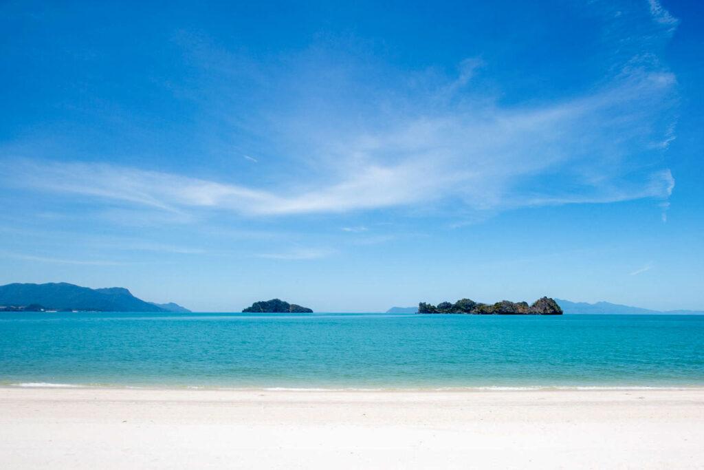 Beach at Four Seasons Resort Langkawai, Malaysia