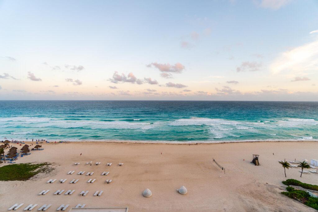 Beach at the Iberostar Cancun Star Prestige