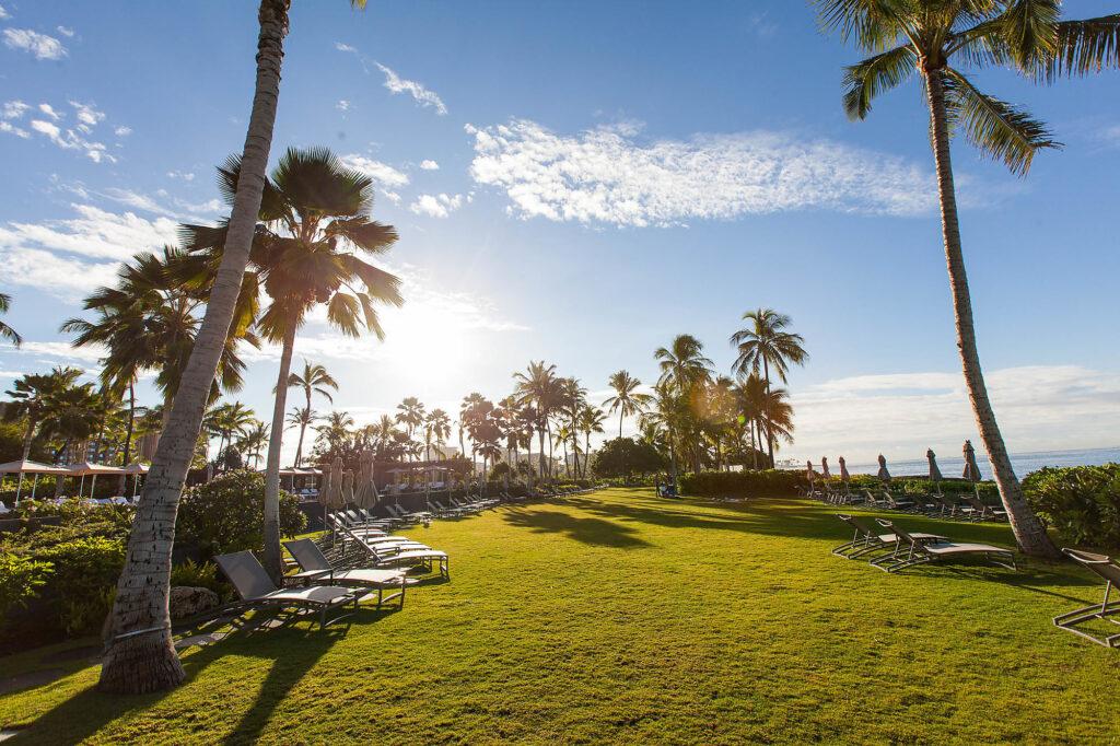 Grounds at the Four Seasons Resort Oahu at Ko Olina