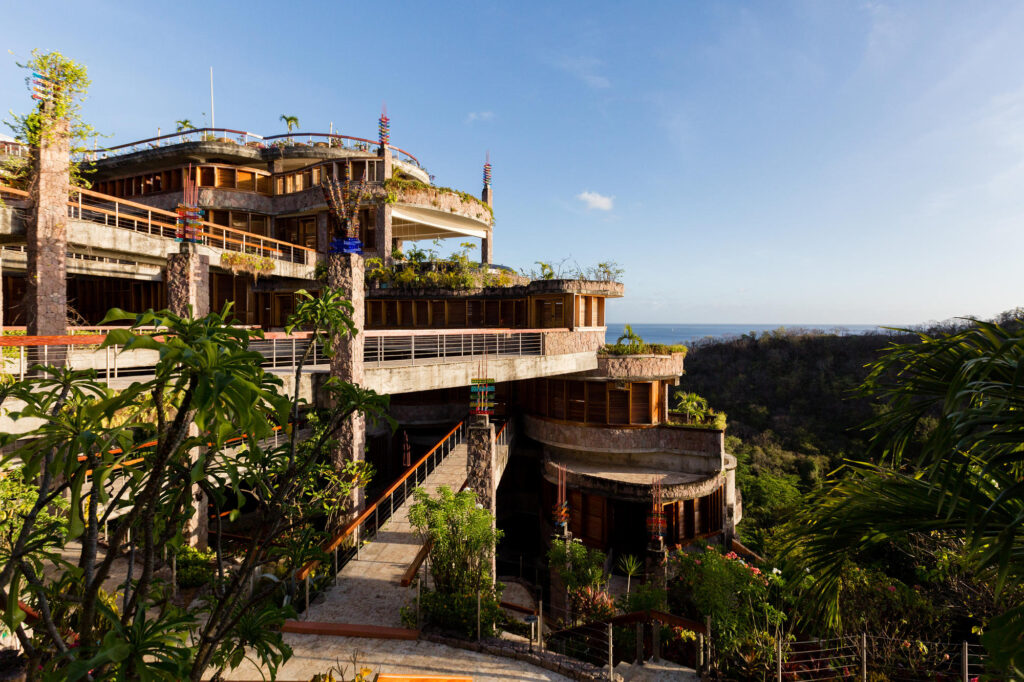 Jade Mountain Resort grounds