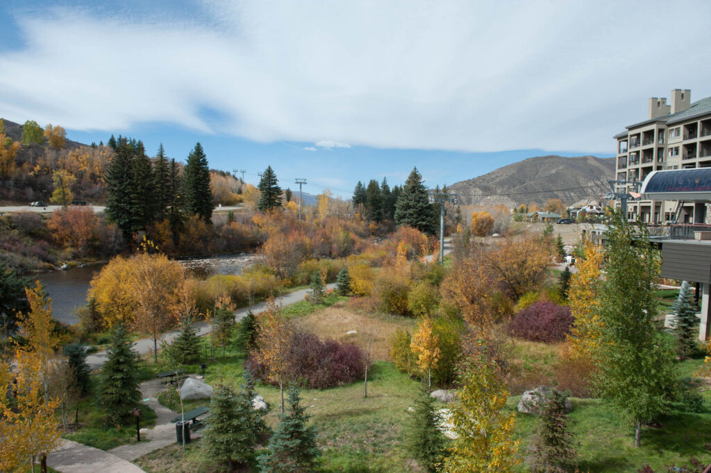 Grounds at the Westin Riverfront Resort and Spa at Beaver Creek Mountain