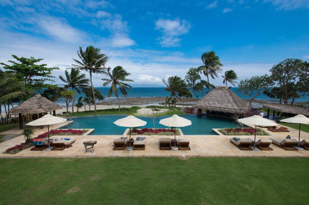 The Infinity Pool at the Nanuku Auberge Resort