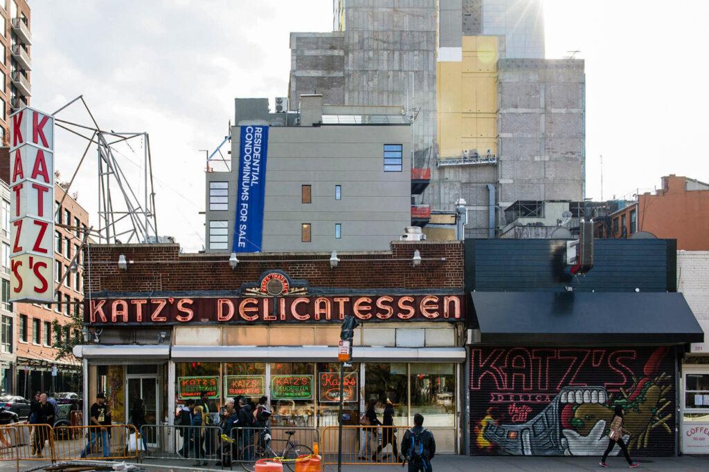 Katz's Deli in New York City