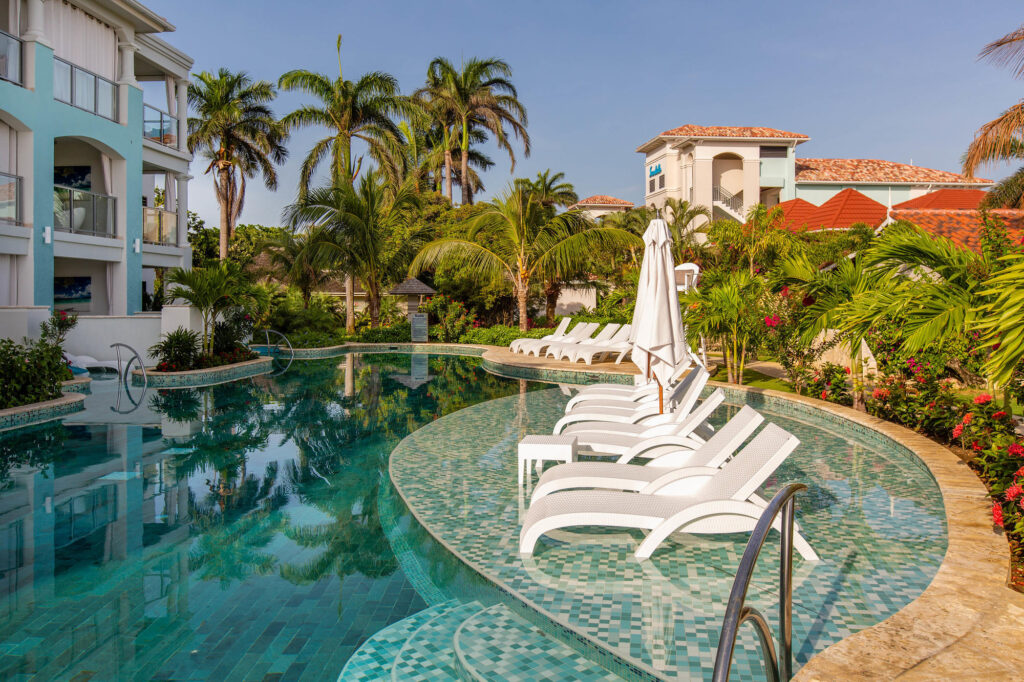 The Lagoon Pool at the Sandals Montego Bay