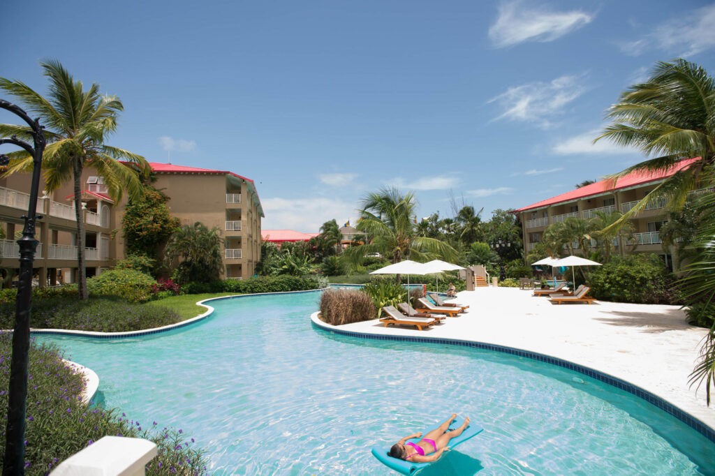 The Lagoon Pool at the Sandals Grande St. Lucian Spa & Beach Resort