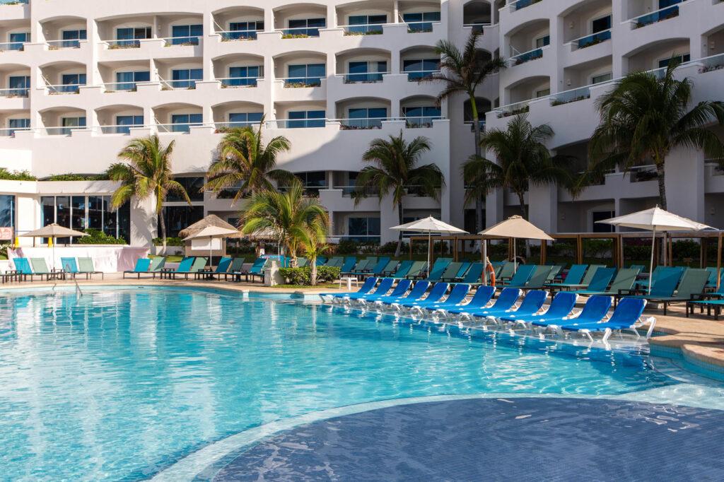 The Main Pool at Panama Jack Resorts Cancun