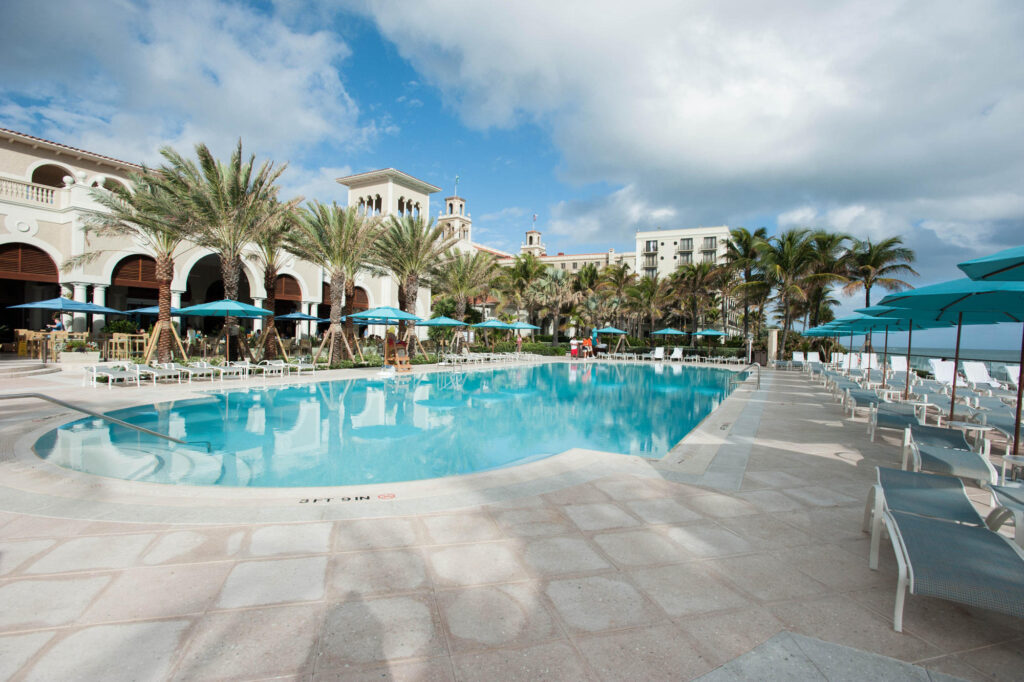 The Main Pool at The Breakers Palm Beach