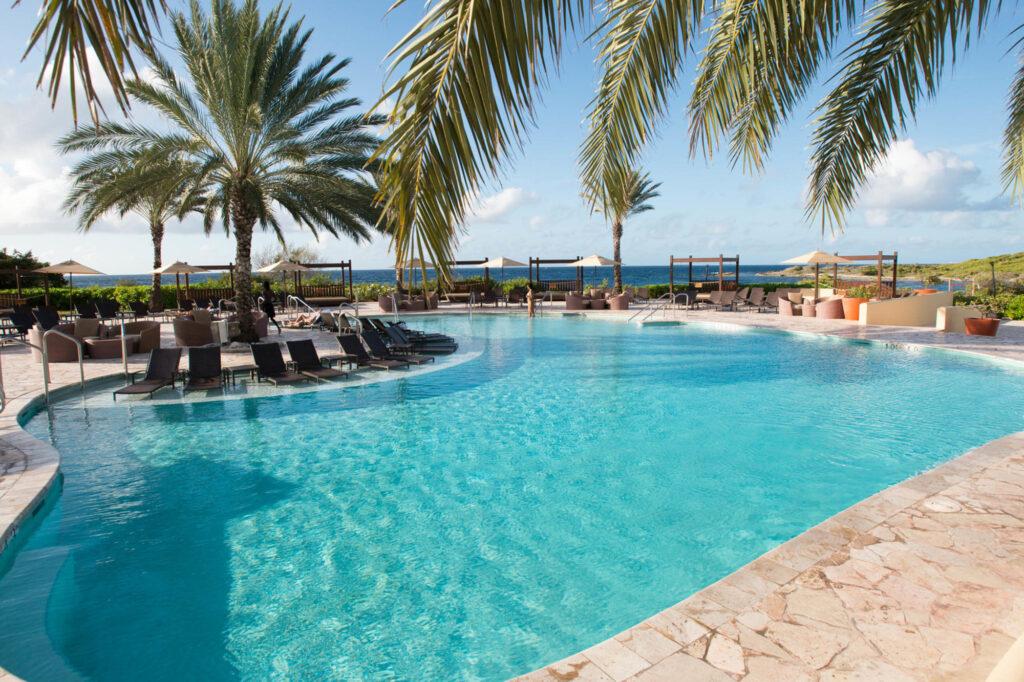 The Main Pool at the Santa Barbara Beach & Golf Resort, Curacao