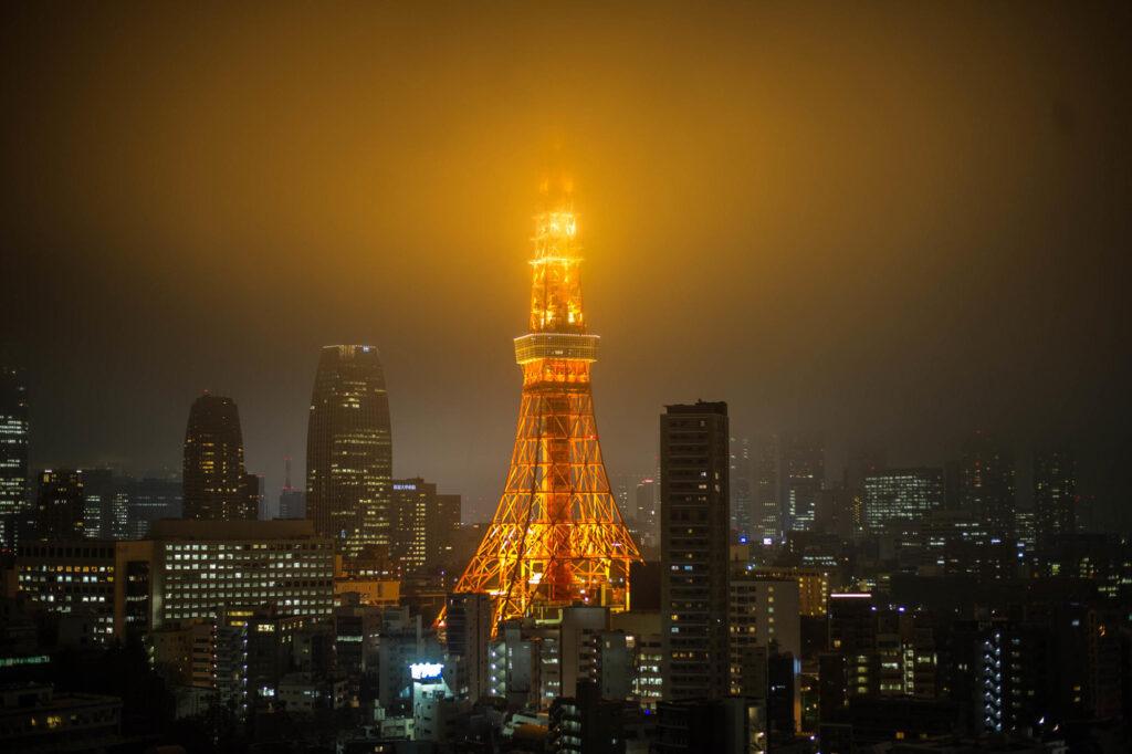 Odaiba, Tokyo at night