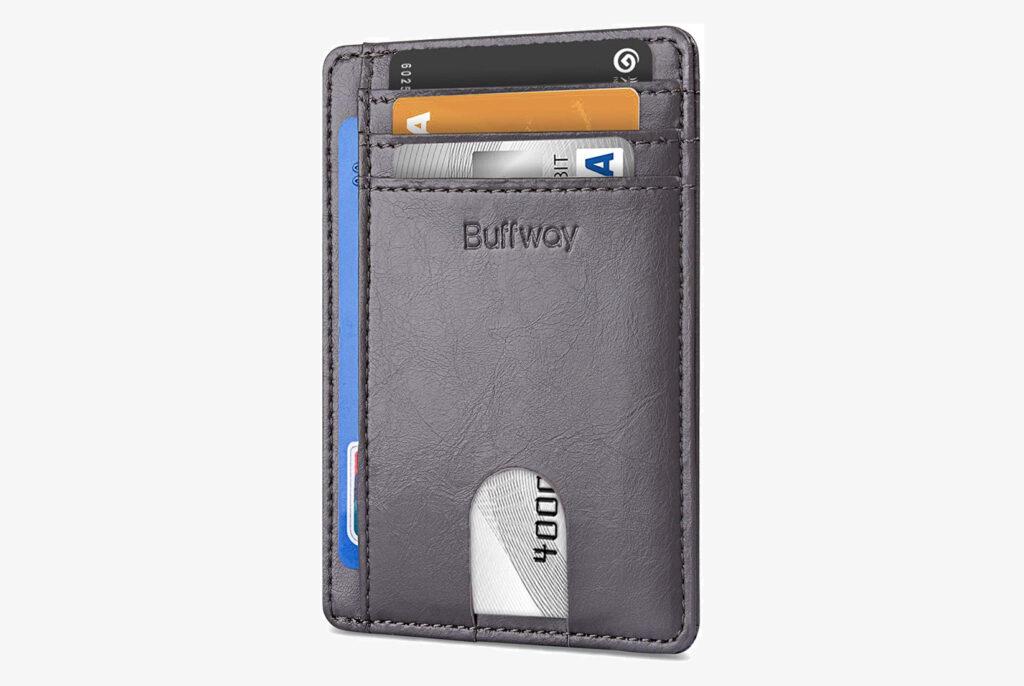 Buffway Unisex RFID Travel Wallet