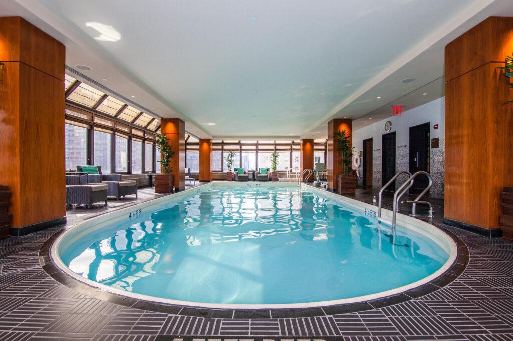 The Pool at The Peninsula New York