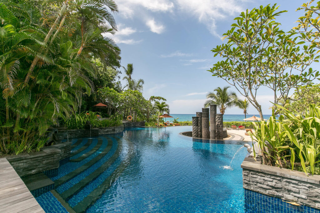 The Pool at the MAIA Luxury Resort & Spa