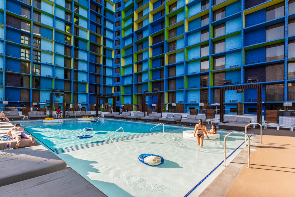 Pool at The LINQ Hotel & Casino