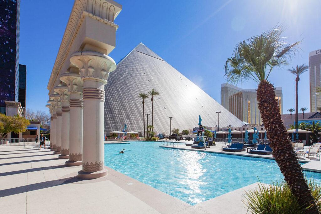 Pool at Luxor Hotel & Casino