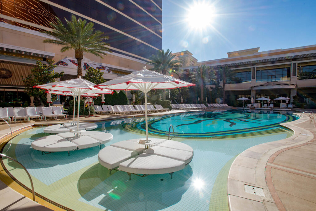 Pool at Encore At Wynn Las Vegas