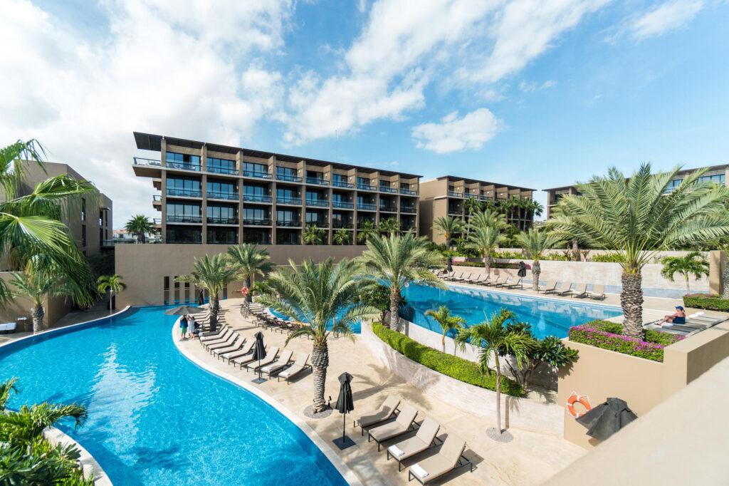 Pool at the JW Marriott Los Cabos Beach Resort & Spa