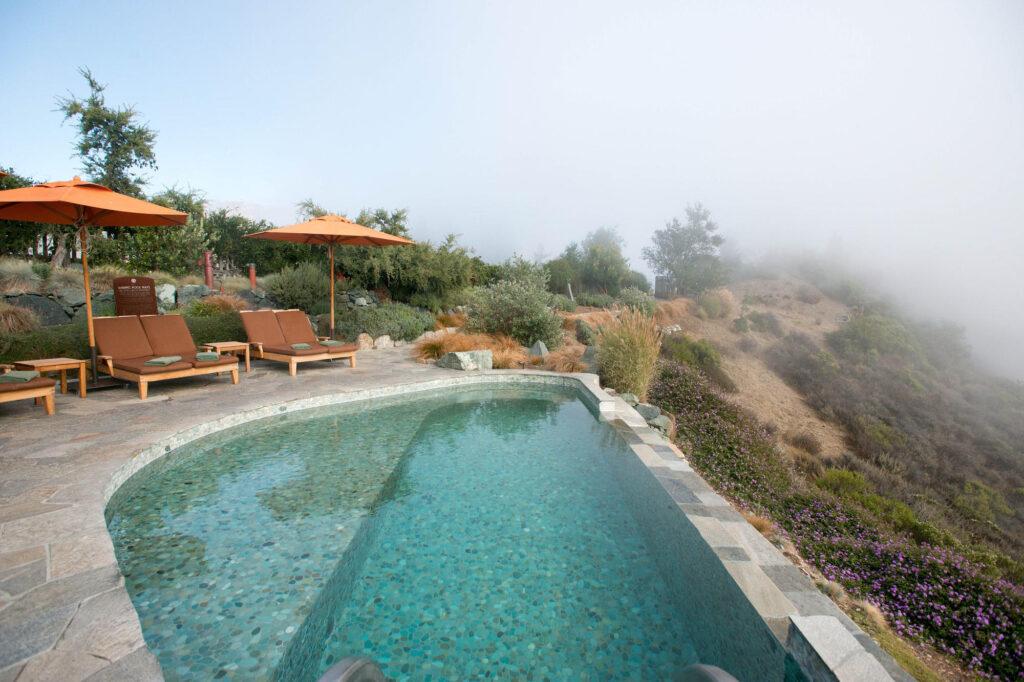 Pool at the Post Ranch Inn