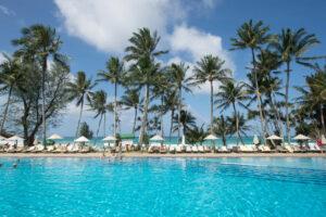 The Pool at the Le Meridien Phuket Beach Resort