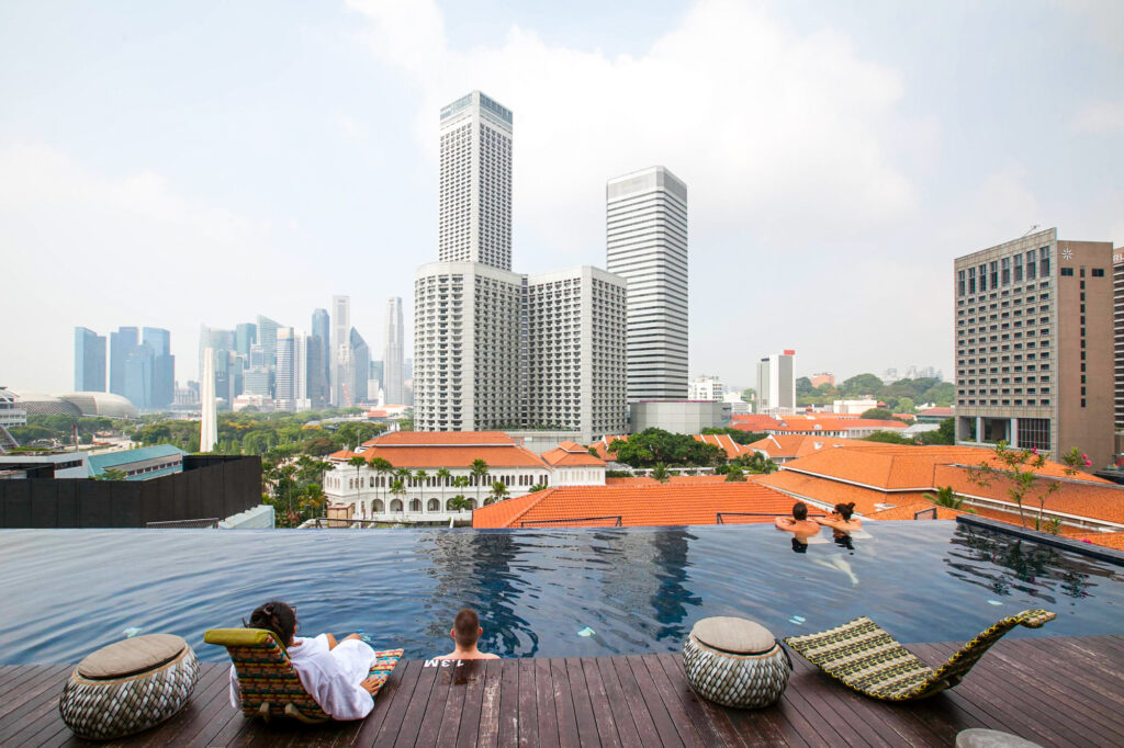 The Pool at the Naumi Hotel Singapore