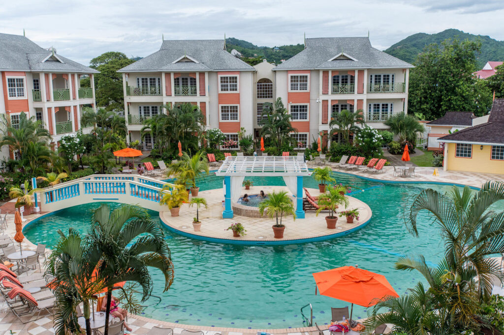 The Pool at the Bay Gardens Beach Resort