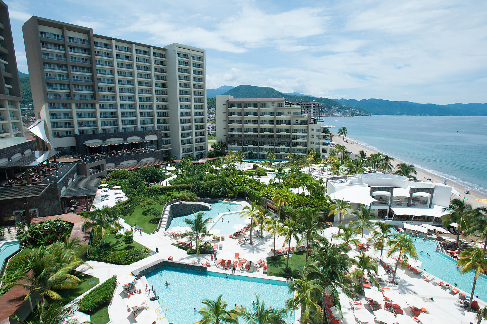 View from the Preferred Club Junior Suite at Now Amber Puerto Vallarta