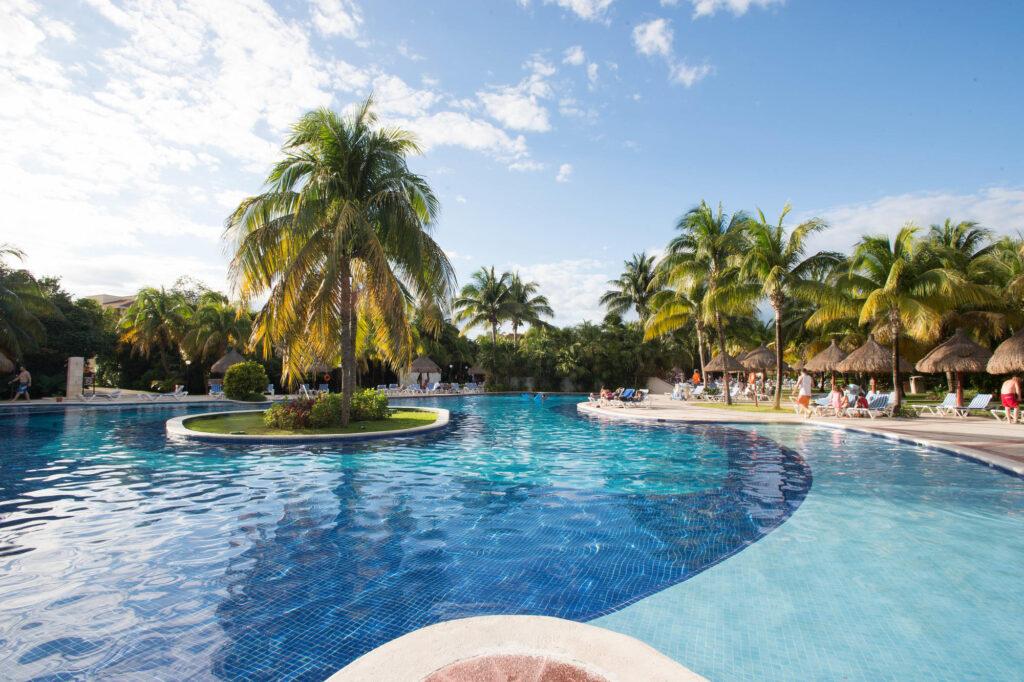 The Premier Pool at the Grand Bahia Principe Coba