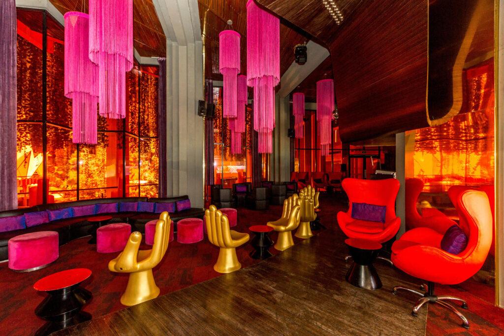 Red Lounge at Paradisus Cancun