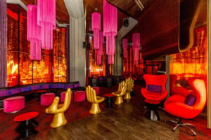 Red Lounge at Paradisus Cancun